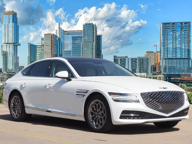 new 2021 Genesis G80 car, priced at $60,570