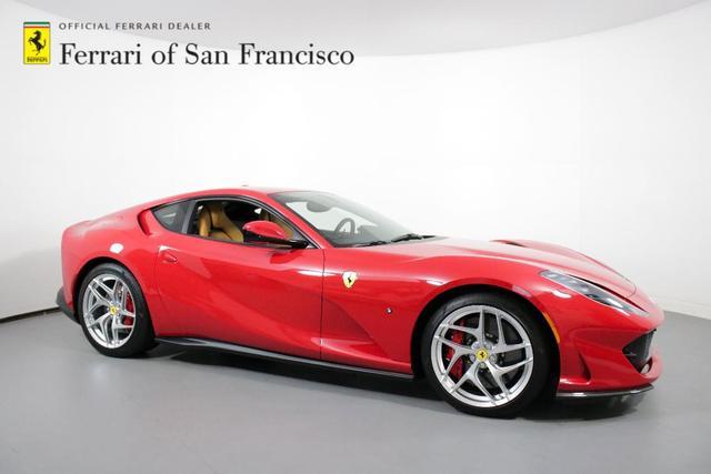 used 2019 Ferrari 812 Superfast car, priced at $382,500