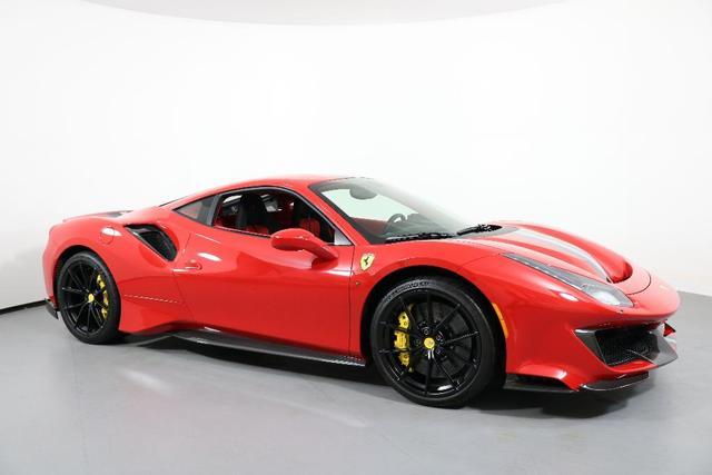 used 2019 Ferrari 488 Pista car, priced at $489,000