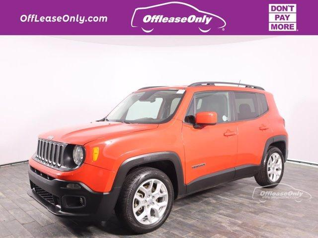 used 2016 Jeep Renegade car, priced at $14,999