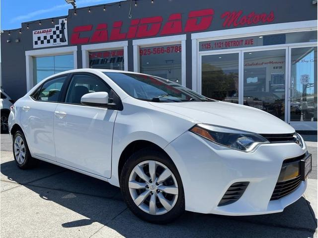 used 2015 Toyota Corolla car, priced at $14,898