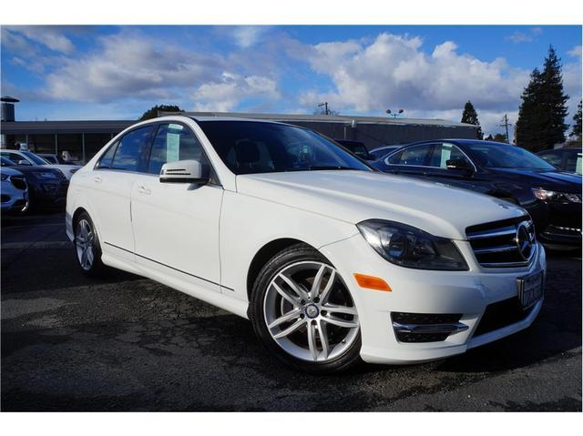used 2014 Mercedes-Benz C-Class car, priced at $14,488