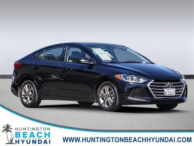 used 2018 Hyundai Elantra car, priced at $17,000