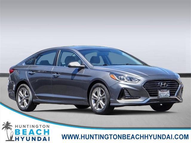used 2018 Hyundai Sonata car, priced at $15,398