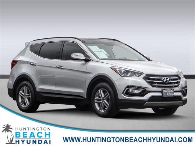 used 2017 Hyundai Santa Fe Sport car, priced at $17,550