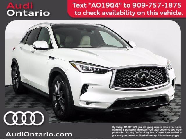 used 2019 INFINITI QX50 car, priced at $35,000