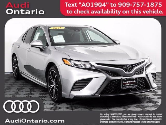 used 2019 Toyota Camry car, priced at $24,500