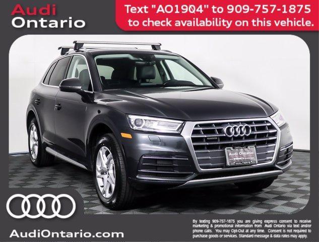 used 2019 Audi Q5 car, priced at $34,500