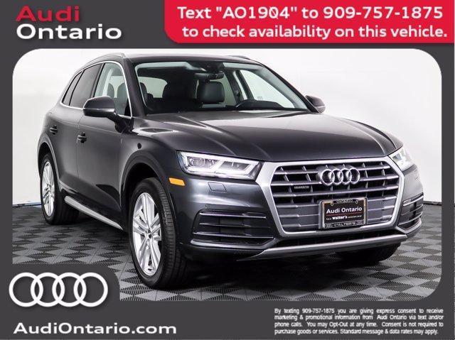 used 2018 Audi Q5 car, priced at $33,332