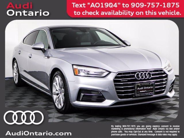 used 2018 Audi A5 car, priced at $32,500