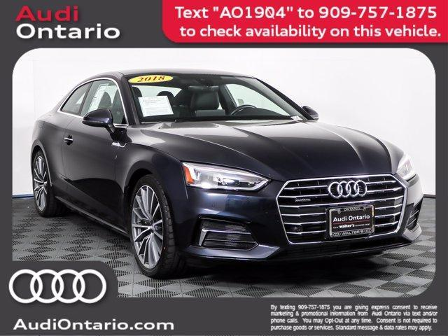 used 2018 Audi A5 car, priced at $35,804