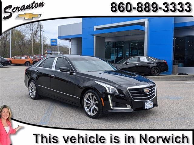 used 2016 Cadillac CTS car, priced at $20,924