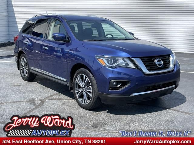 used 2018 Nissan Pathfinder car, priced at $29,829