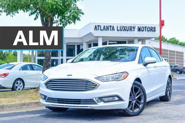 used 2018 Ford Fusion car, priced at $18,960