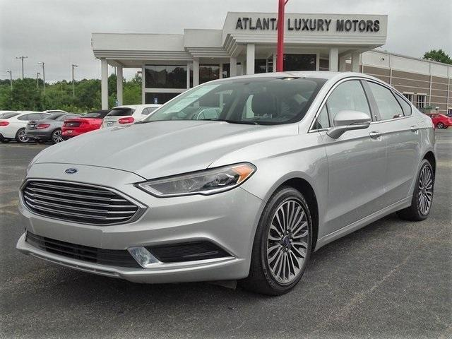 used 2018 Ford Fusion car, priced at $17,988