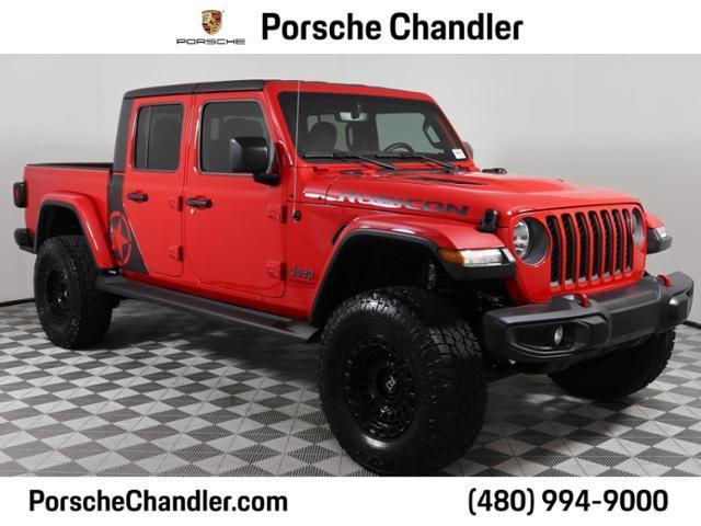 used 2021 Jeep Gladiator car, priced at $60,300