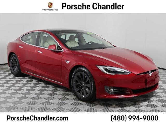 used 2018 Tesla Model S car, priced at $70,700