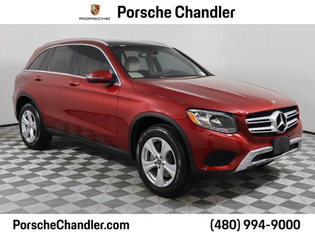 used 2017 Mercedes-Benz GLC 300 car, priced at $30,700