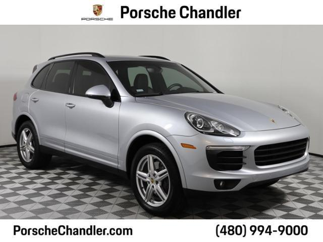 used 2018 Porsche Cayenne car, priced at $56,600