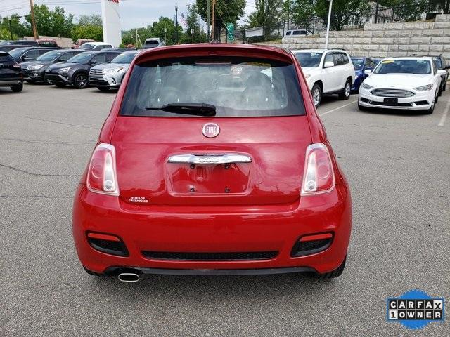 used 2015 FIAT 500 car, priced at $7,897
