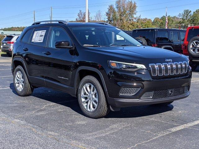 new 2021 Jeep Cherokee car, priced at $23,599
