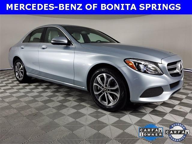 used 2018 Mercedes-Benz C-Class car, priced at $31,327