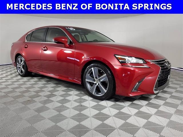 used 2016 Lexus GS 350 car, priced at $26,444