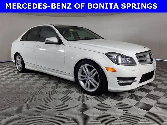used 2013 Mercedes-Benz C-Class car, priced at $15,952