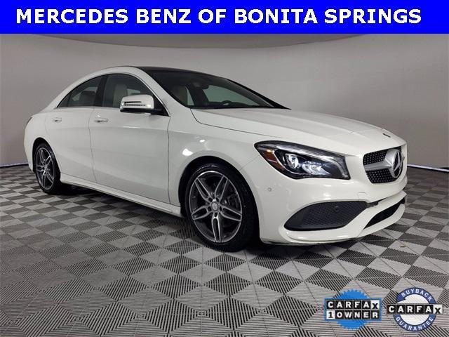used 2018 Mercedes-Benz CLA 250 car, priced at $32,351