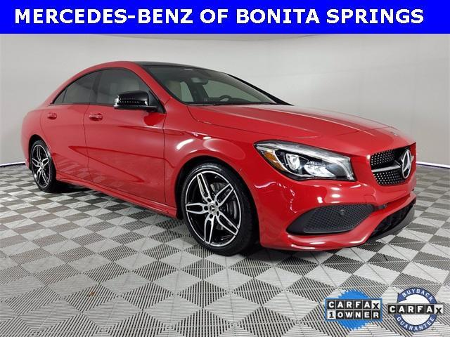 used 2018 Mercedes-Benz CLA 250 car, priced at $30,386