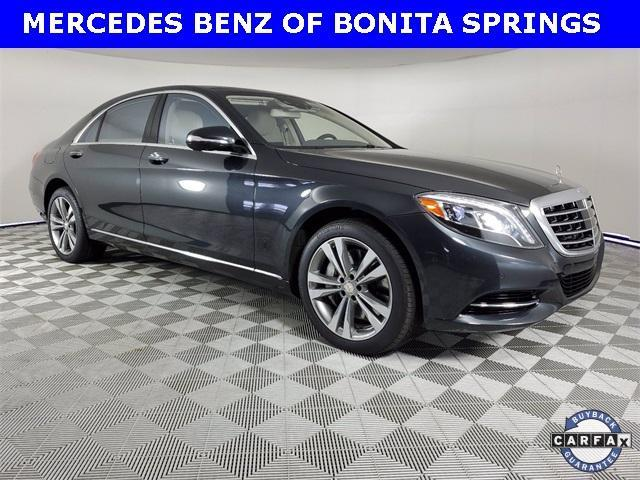 used 2016 Mercedes-Benz S-Class car, priced at $55,509