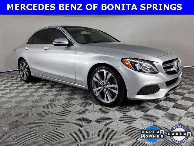 used 2018 Mercedes-Benz C-Class car, priced at $32,751