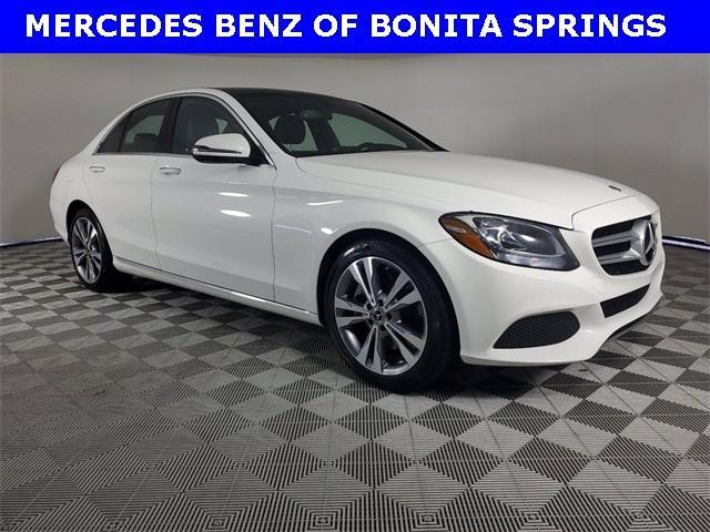 used 2018 Mercedes-Benz C-Class car, priced at $29,511