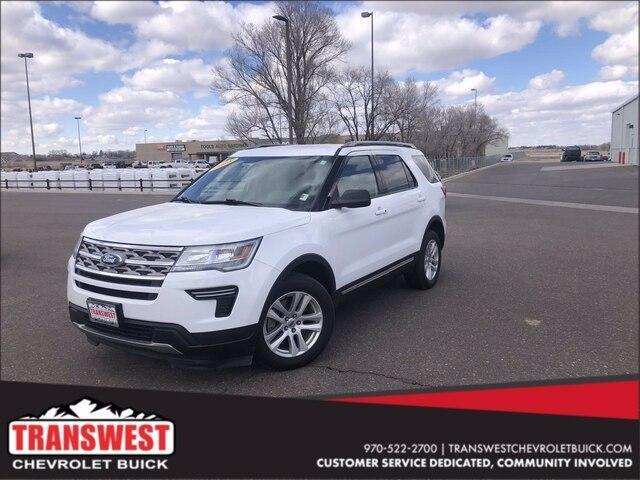used 2018 Ford Explorer car, priced at $27,390