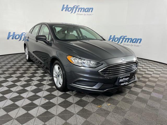 used 2018 Ford Fusion car, priced at $17,998