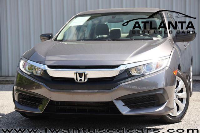 used 2018 Honda Civic car, priced at $17,999