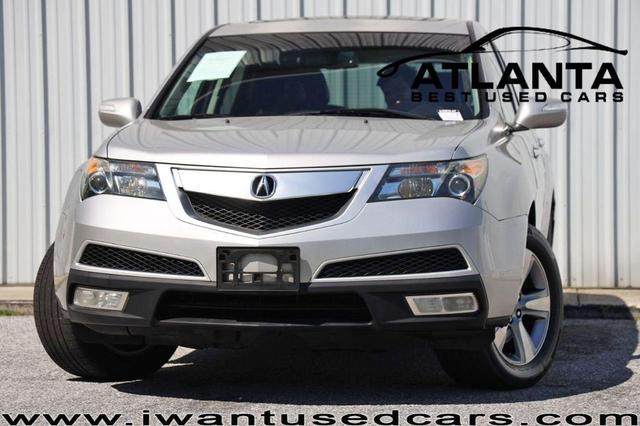 used 2011 Acura MDX car, priced at $9,999