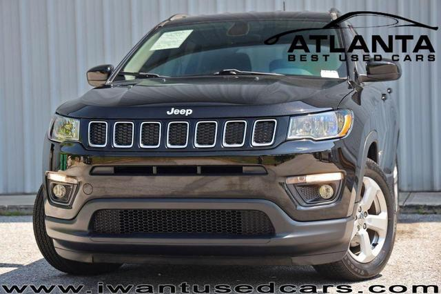 used 2018 Jeep Compass car, priced at $18,500