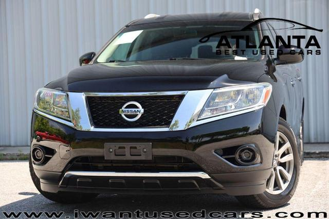 used 2014 Nissan Pathfinder car, priced at $14,999