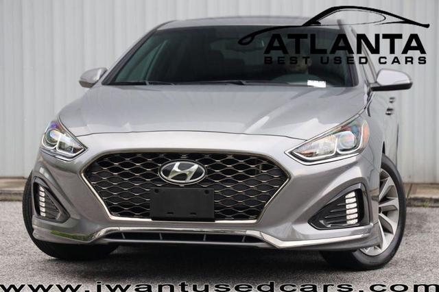 used 2018 Hyundai Sonata car, priced at $18,750