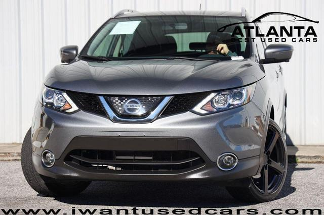 used 2018 Nissan Rogue Sport car, priced at $18,900