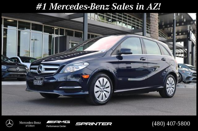 used 2017 Mercedes-Benz B-Class car, priced at $17,462