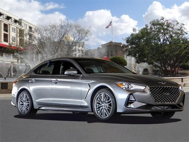 new 2021 Genesis G70 car, priced at $41,655