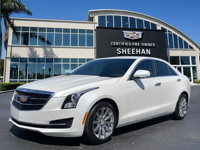 used 2018 Cadillac ATS car, priced at $27,452