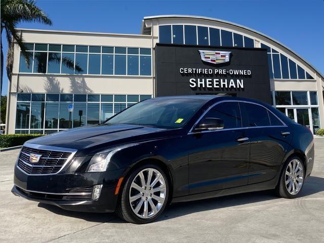 used 2017 Cadillac ATS car, priced at $23,484