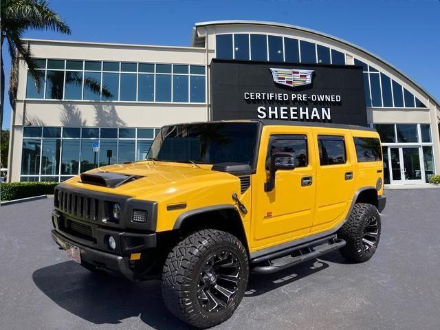 used 2003 Hummer H2 car, priced at $25,485