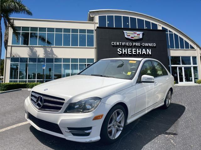 used 2014 Mercedes-Benz C-Class car, priced at $19,823