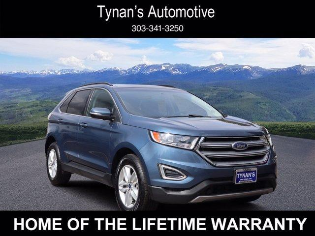 used 2018 Ford Edge car, priced at $24,996