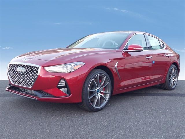 new 2021 Genesis G70 car, priced at $47,945