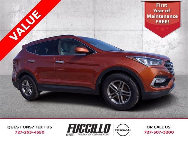 used 2017 Hyundai Santa Fe Sport car, priced at $13,665